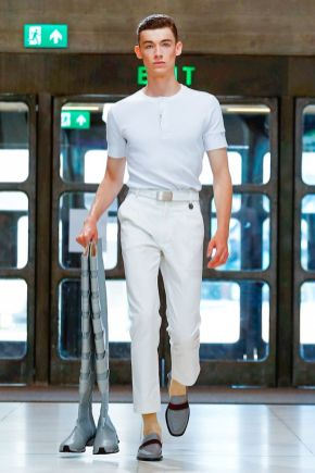 Xander Zhou Menswear Spring Summer 2019 London26