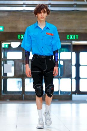 Xander Zhou Menswear Spring Summer 2019 London29