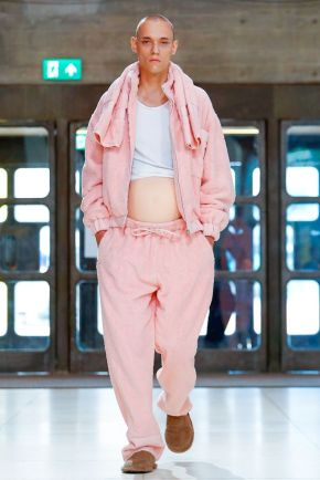 Xander Zhou Menswear Spring Summer 2019 London30