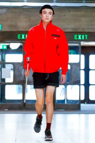 Xander Zhou Menswear Spring Summer 2019 London39