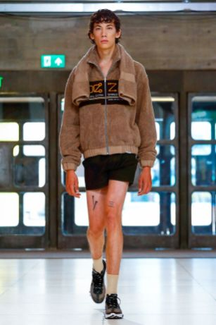 Xander Zhou Menswear Spring Summer 2019 London43