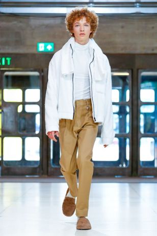 Xander Zhou Menswear Spring Summer 2019 London47