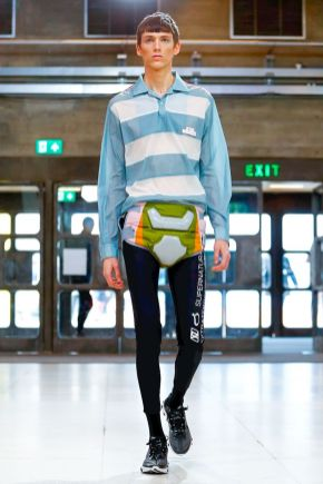Xander Zhou Menswear Spring Summer 2019 London5