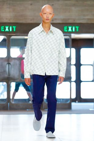 Xander Zhou Menswear Spring Summer 2019 London53