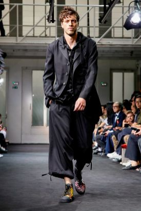 Yohji Yamamoto Menswear Spring Summer 2019 Paris1
