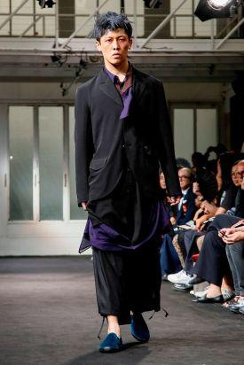 Yohji Yamamoto Menswear Spring Summer 2019 Paris15