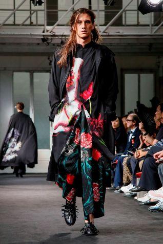Yohji Yamamoto Menswear Spring Summer 2019 Paris30