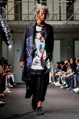 Yohji Yamamoto Menswear Spring Summer 2019 Paris34