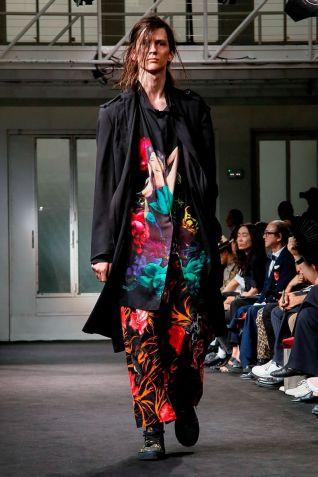 Yohji Yamamoto Menswear Spring Summer 2019 Paris37