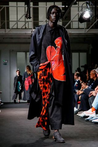 Yohji Yamamoto Menswear Spring Summer 2019 Paris40
