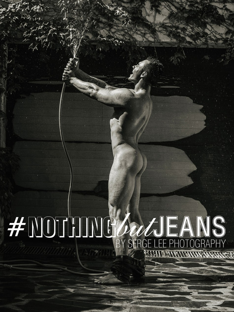 Fitness Model Dmitriy Tumash in #NothingButJeans by Serge Lee