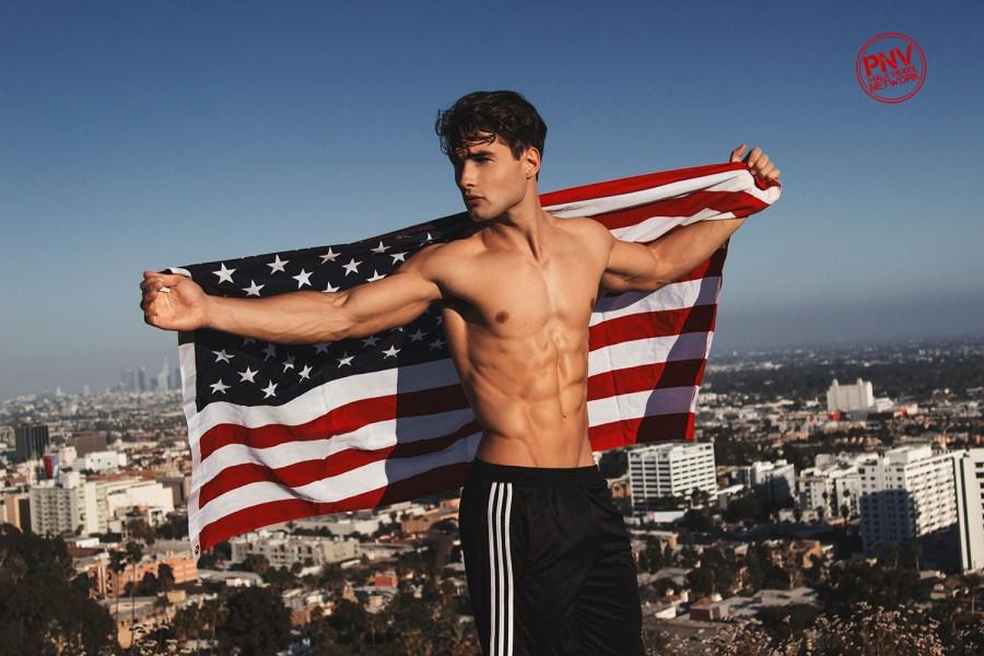"""Joe & the Mighty Abs"" Model Joe Bruzas by Adam Washington - PnV Network"