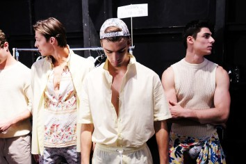 Parke and Ronen Spring Summer 2019 NYFW Backstage10
