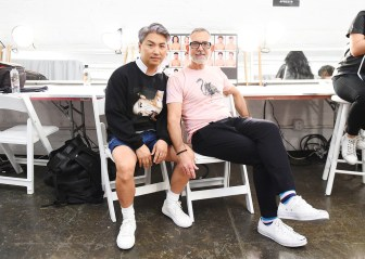 Parke and Ronen Spring Summer 2019 NYFW Backstage13
