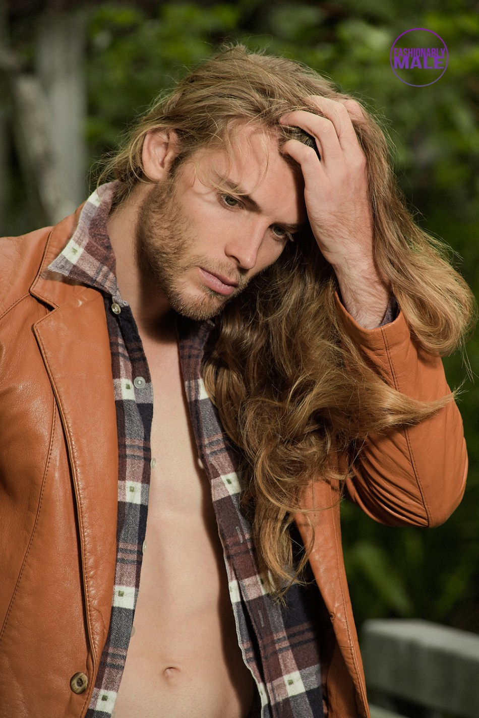 Debut Long-Haired Beauty Dylan Hocking by Alan Tan - Exclusive