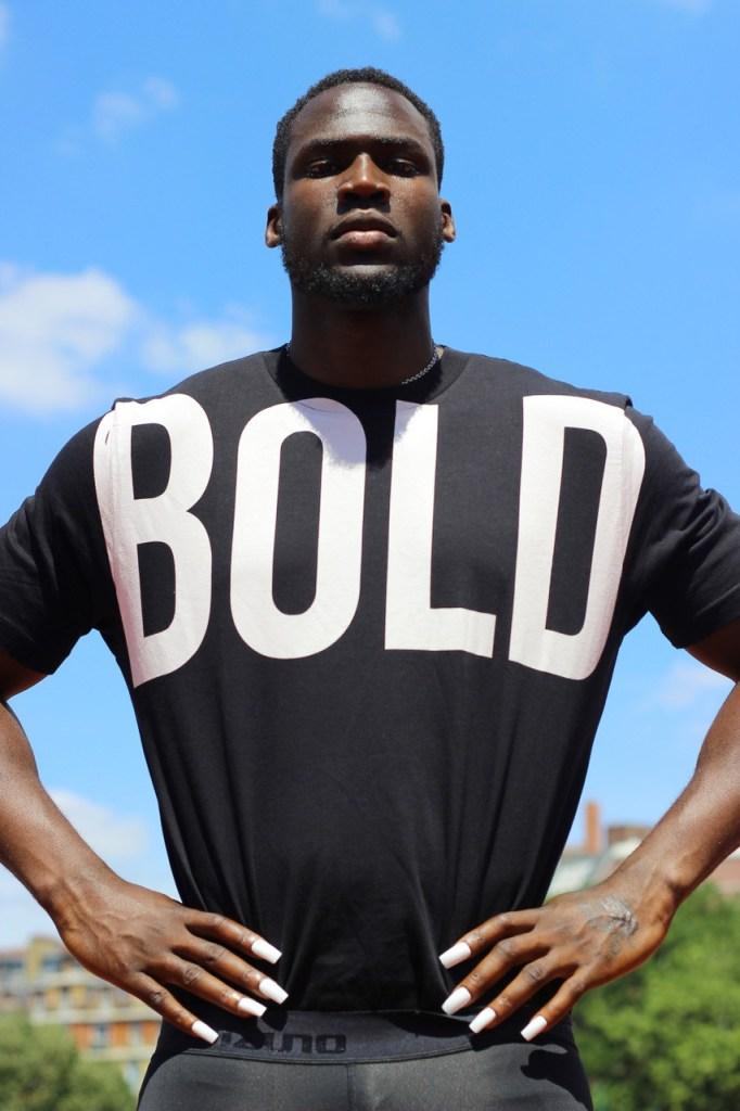 King Kong Magazine launches 'Bold' by Stéphane Gaboué. T-shirt Diesel