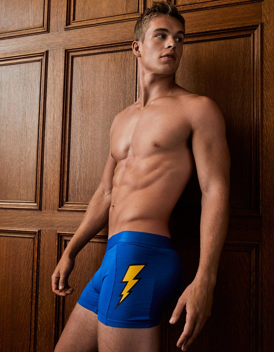 See Mitchell Slaggert for Simons Underwear New Lookbook