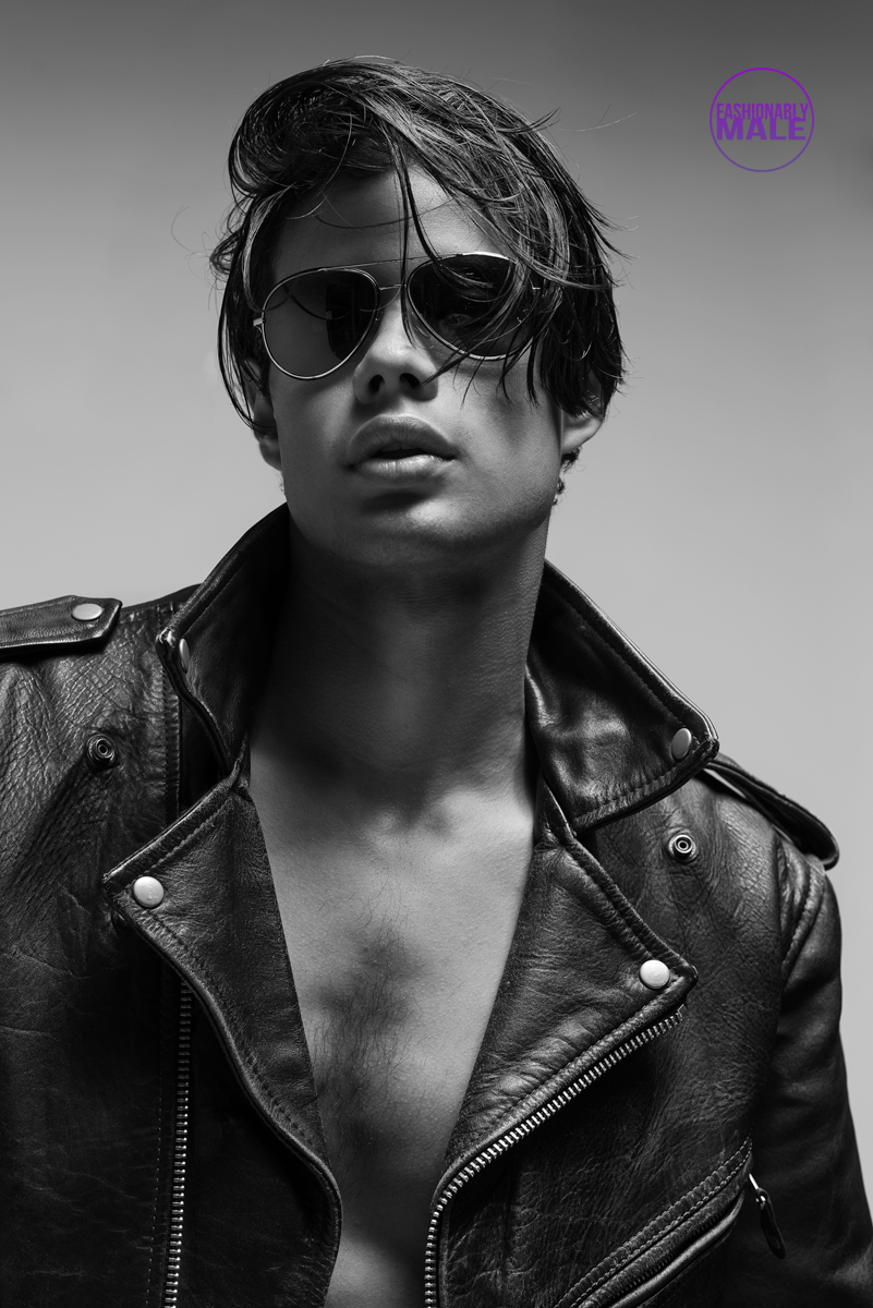 Becoming a Model in L.A. Here's Roy by James Loy