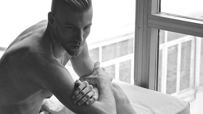 KJ Heath photographs Talent Dancer Adam Houston