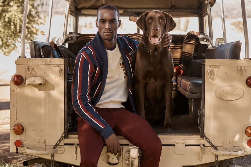 Corey Baptiste for Ralph Lauren x Mr Porter