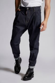 Denim 2 Pleats Pants