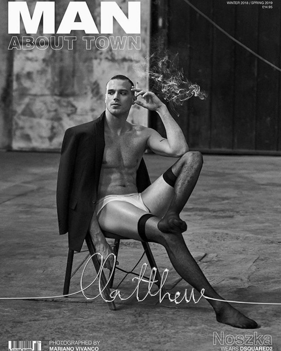 Matthew Noszka for Man About Town Winter 2018 / Spring 2019 Issue