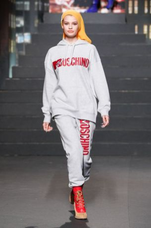 Moschino [tv] x H&M Fall Winter 2018 New York20