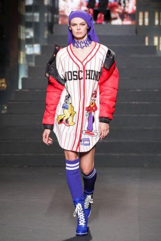 Moschino [tv] x H&M Fall Winter 2018 New York36