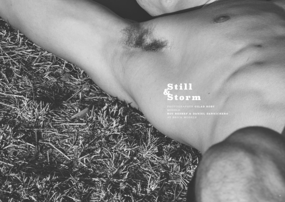 """Still & Storm"" by Gilad Boby for Client Magazine US #11"