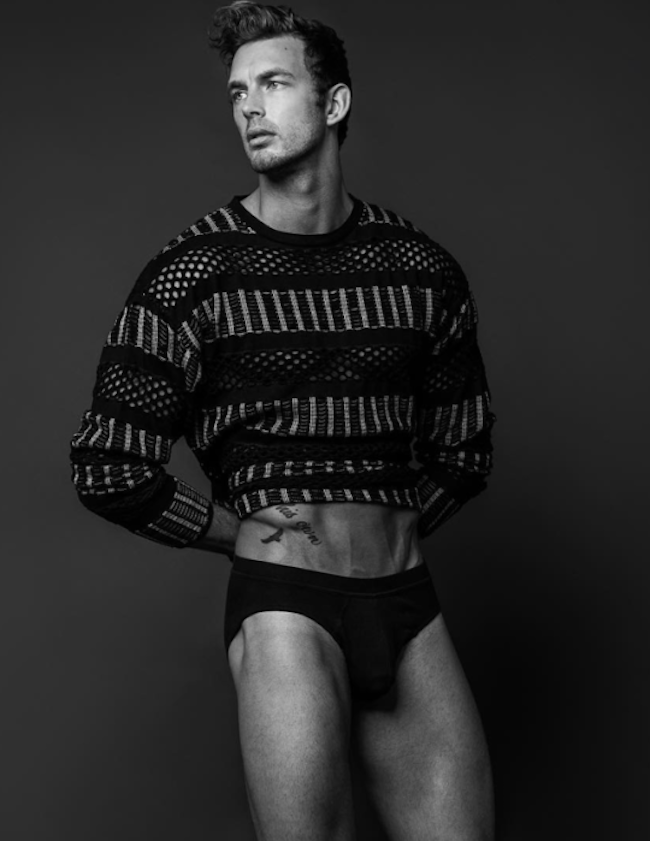 Caption this: Christian Hogue by Chuck Thomas