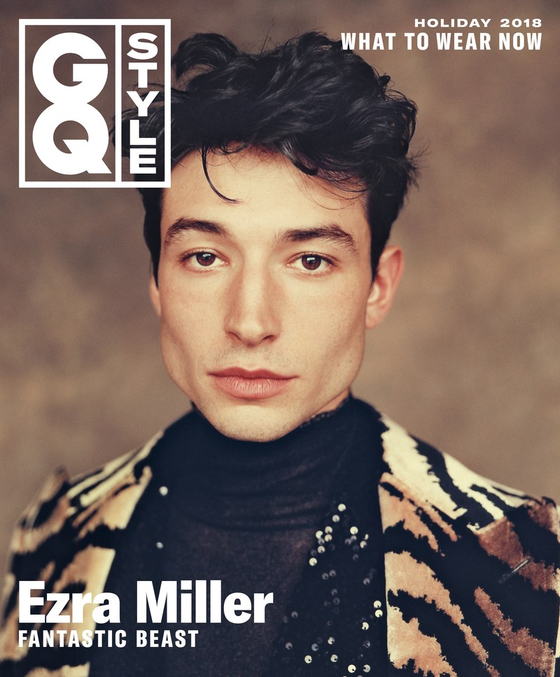 Ezra Miller Covers Holiday Issue of GQ Style Winter 2018
