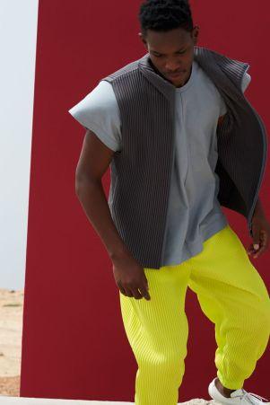 Homme Plissé Issey Miyake Menswear Spring Summer 201915