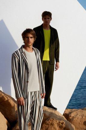 Homme Plissé Issey Miyake Menswear Spring Summer 201918