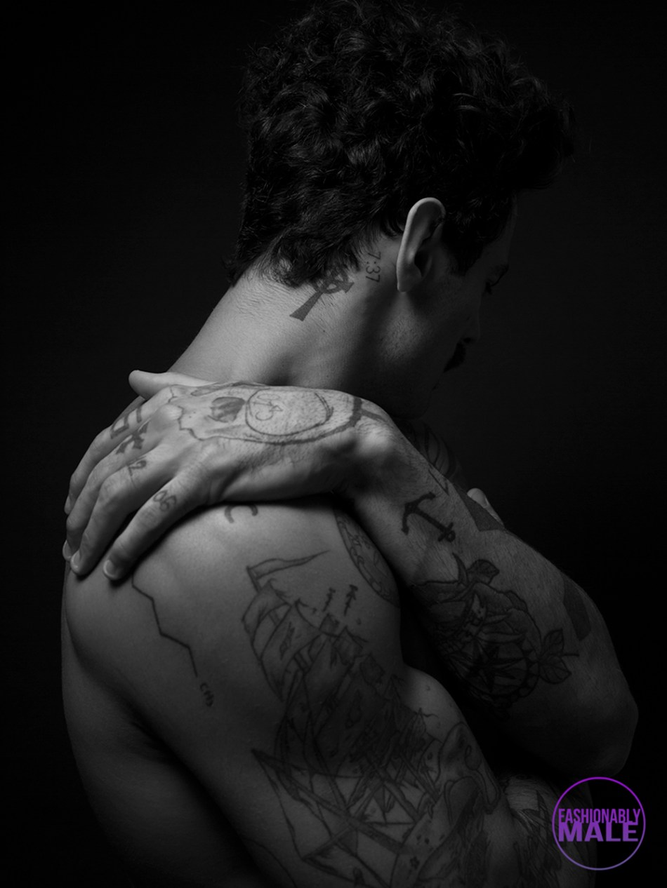 Brazilian Model Luis Coppini Photographed by Karl Simone