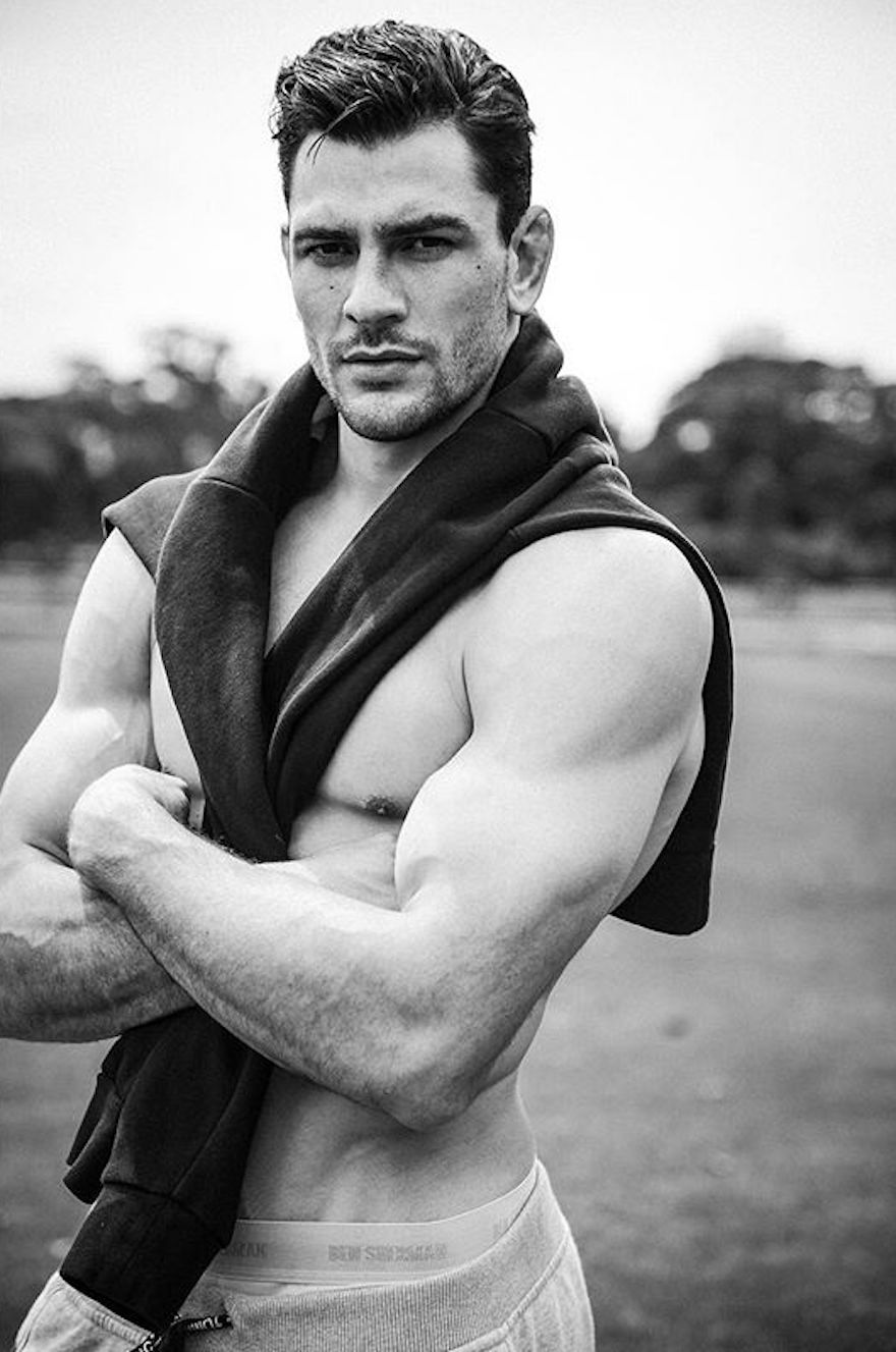 Represented by IMG Models, Marcus is photographed at Centennial Parklands in Sydney Australia.
