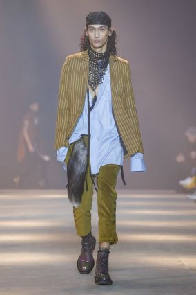 Ann Demeulemeester Menswear Fall Winter 2019 Paris5