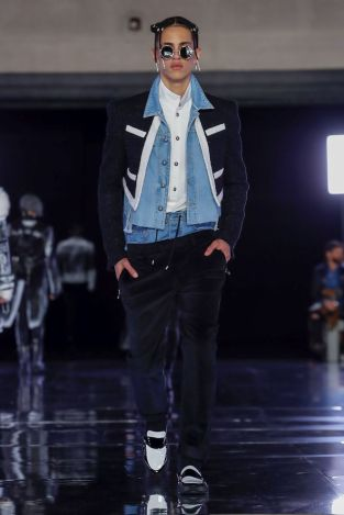 Balmain Homme Menswear Fall Winter 2019 Paris21
