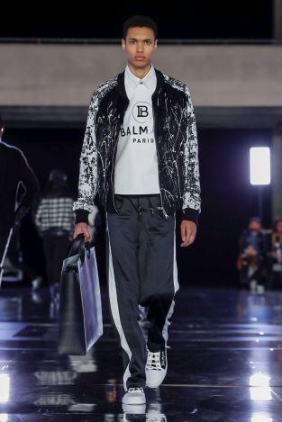 Balmain Homme Menswear Fall Winter 2019 Paris5