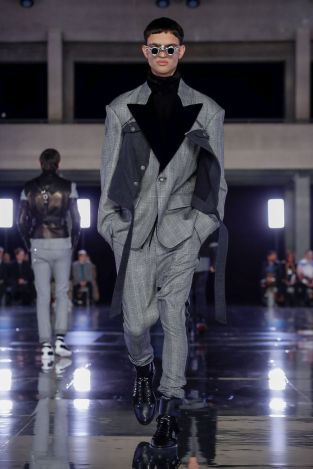 Balmain Homme Menswear Fall Winter 2019 Paris50