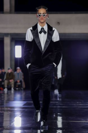 Balmain Homme Menswear Fall Winter 2019 Paris74