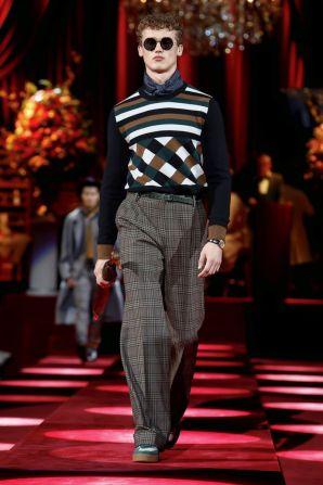 Dolce & Gabbana Menswear Fall Winter 2019 Milan108