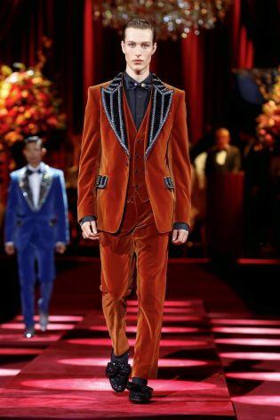Dolce & Gabbana Menswear Fall Winter 2019 Milan111