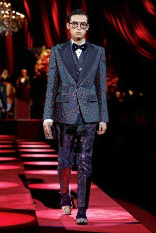 Dolce & Gabbana Menswear Fall Winter 2019 Milan114