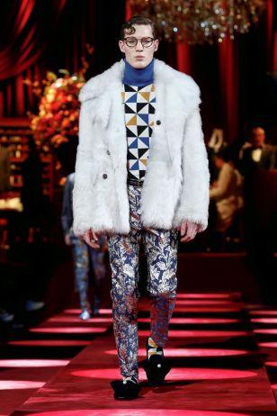 Dolce & Gabbana Menswear Fall Winter 2019 Milan12