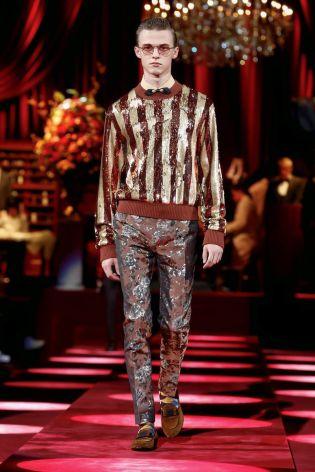 Dolce & Gabbana Menswear Fall Winter 2019 Milan129