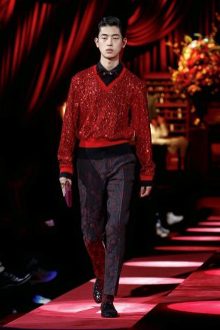 Dolce & Gabbana Menswear Fall Winter 2019 Milan130