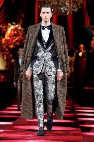 Dolce & Gabbana Menswear Fall Winter 2019 Milan17