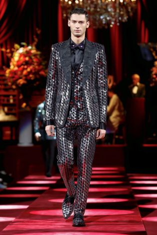 Dolce & Gabbana Menswear Fall Winter 2019 Milan75