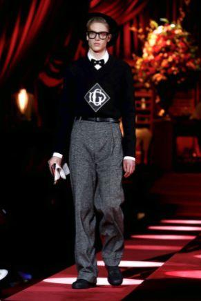 Dolce & Gabbana Menswear Fall Winter 2019 Milan9