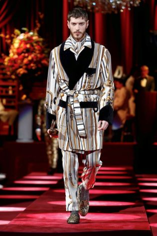 Dolce & Gabbana Menswear Fall Winter 2019 Milan91